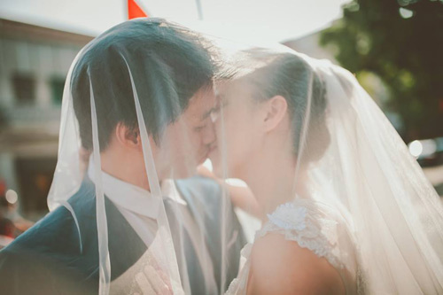 Ảnh cưới hoài cổ của cặp đôi nàng Nam – chàng Bắc - 12