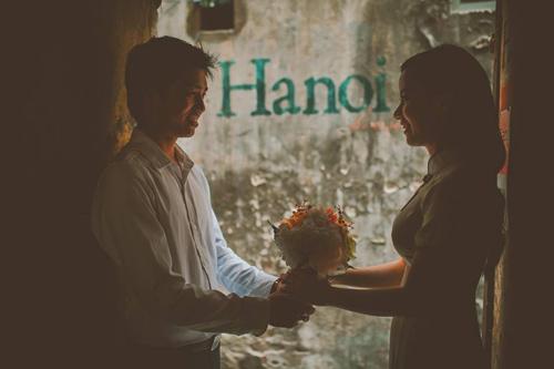 Ảnh cưới hoài cổ của cặp đôi nàng Nam – chàng Bắc - 13