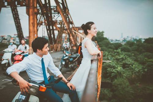 Ảnh cưới hoài cổ của cặp đôi nàng Nam – chàng Bắc - 4
