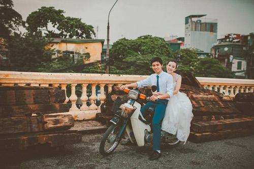 Ảnh cưới hoài cổ của cặp đôi nàng Nam – chàng Bắc - 5