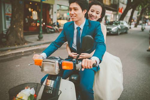 Ảnh cưới hoài cổ của cặp đôi nàng Nam – chàng Bắc - 6