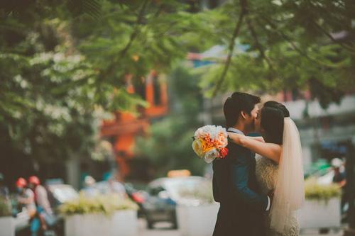 Ảnh cưới hoài cổ của cặp đôi nàng Nam – chàng Bắc - 9