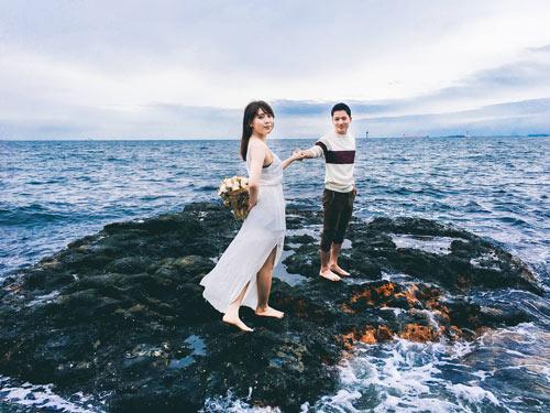 Bộ ảnh cưới siêu đẹp chụp tại Nhật bằng iphone 6S - 1