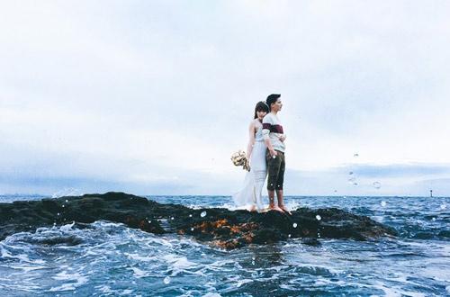 Bộ ảnh cưới siêu đẹp chụp tại Nhật bằng iphone 6S - 3