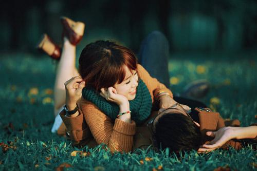 """Bộ ảnh cưới """"nắng vàng trên cỏ xanh"""" cặp đôi Hà Thành - 1"""