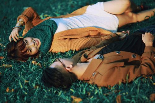 """Bộ ảnh cưới """"nắng vàng trên cỏ xanh"""" cặp đôi Hà Thành - 10"""