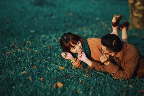 """Bộ ảnh cưới """"nắng vàng trên cỏ xanh"""" cặp đôi Hà Thành - 13"""