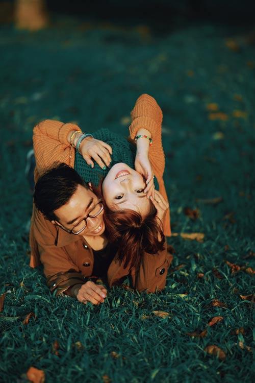 """Bộ ảnh cưới """"nắng vàng trên cỏ xanh"""" cặp đôi Hà Thành - 14"""