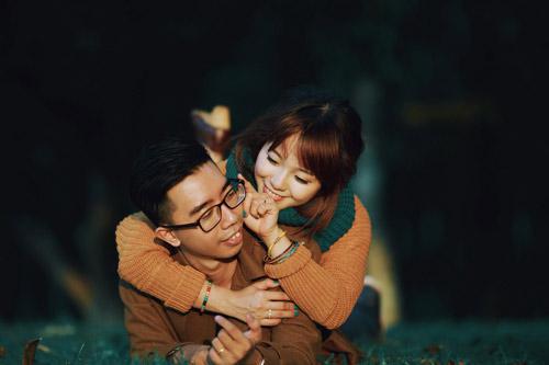 """Bộ ảnh cưới """"nắng vàng trên cỏ xanh"""" cặp đôi Hà Thành - 15"""