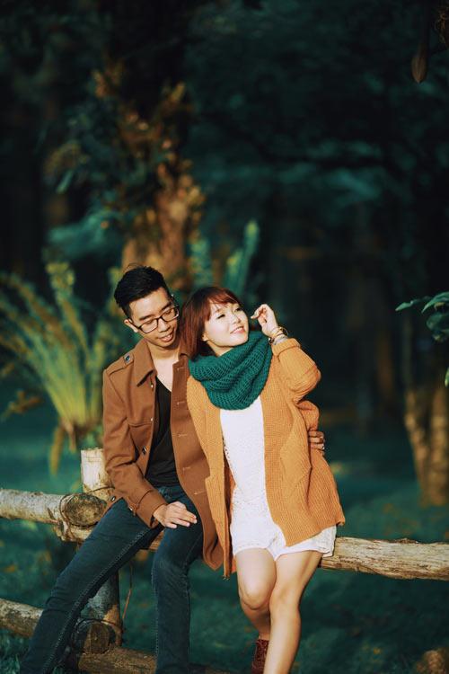 """Bộ ảnh cưới """"nắng vàng trên cỏ xanh"""" cặp đôi Hà Thành - 4"""