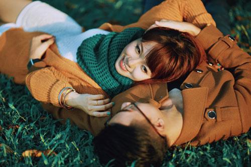 """Bộ ảnh cưới """"nắng vàng trên cỏ xanh"""" cặp đôi Hà Thành - 8"""