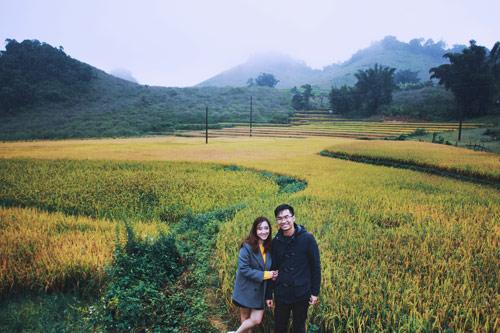 Đẹp mê mẩn ảnh cưới giữa cánh đồng hoa Mộc Châu - 10