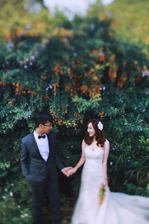 Đẹp mê mẩn ảnh cưới giữa cánh đồng hoa Mộc Châu - 11