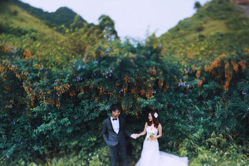 Đẹp mê mẩn ảnh cưới giữa cánh đồng hoa Mộc Châu - 12