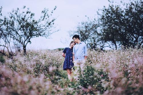 Đẹp mê mẩn ảnh cưới giữa cánh đồng hoa Mộc Châu - 8