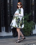 Phong cách bầu bí cá tính của blogger thời trang nổi tiếng