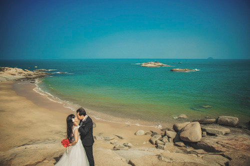 Ảnh cưới của cô dâu U40 khiến giới trẻ phát ghen - 7
