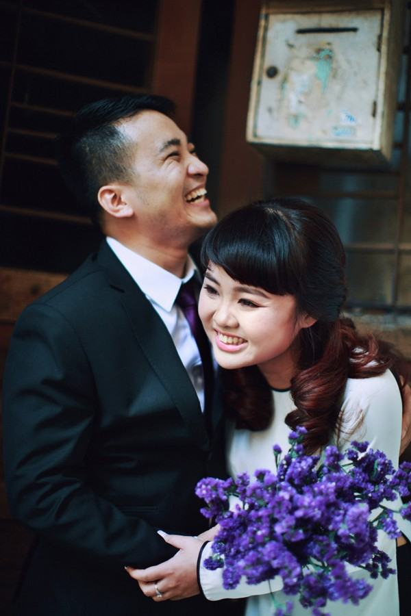 ảnh cưới mùa thu