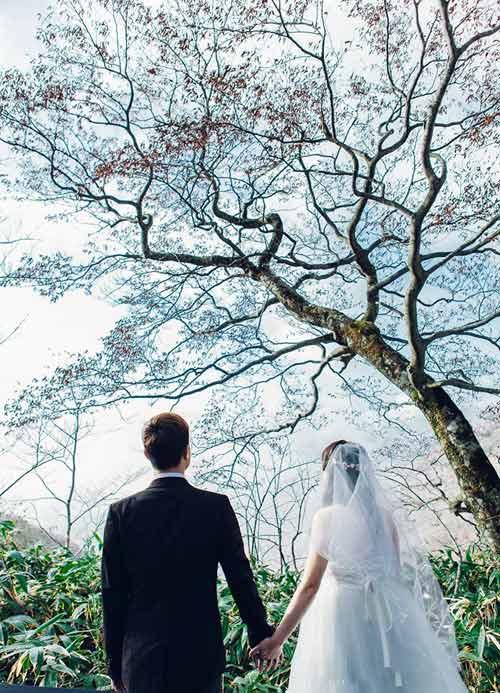 Ảnh cưới mùa thu Nhật Bản đẹp như mơ của cặp đôi 9x - 11