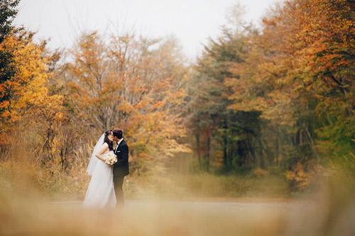 Ảnh cưới mùa thu Nhật Bản đẹp như mơ của cặp đôi 9x - 3