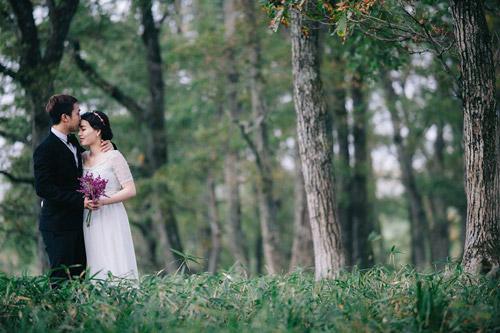 Ảnh cưới mùa thu Nhật Bản đẹp như mơ của cặp đôi 9x - 8