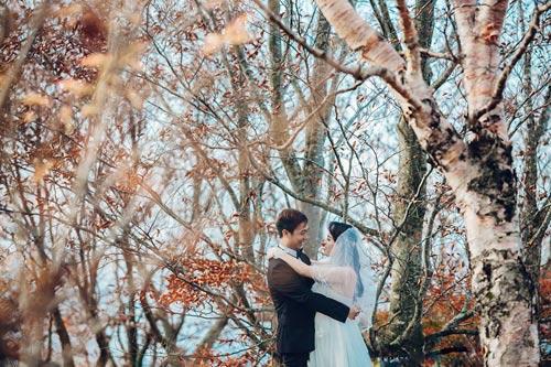 Ảnh cưới mùa thu Nhật Bản đẹp như mơ của cặp đôi 9x - 9