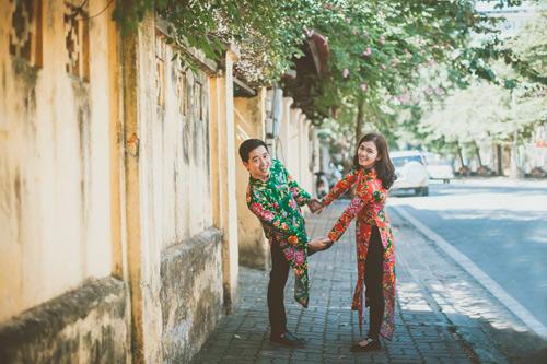 Cô dâu, chú rể đi khắp nơi chụp 5 bộ ảnh cưới - 16