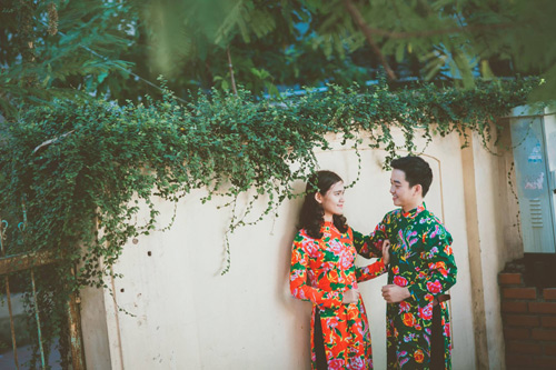 Cô dâu, chú rể đi khắp nơi chụp 5 bộ ảnh cưới - 2