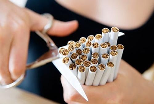 bỏ thuốc là giúp da trắng khỏe