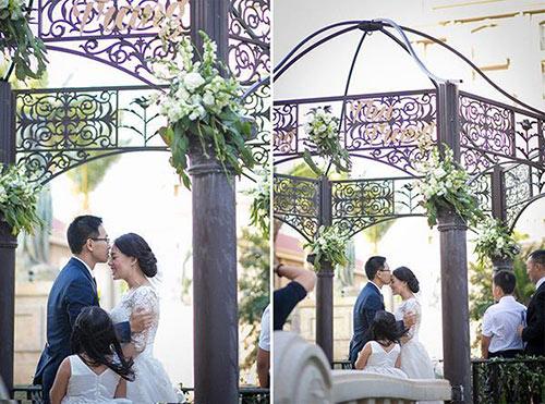 Đám cưới ngoài trời đẹp như cổ tích của cặp đôi Vũng Tàu - 10