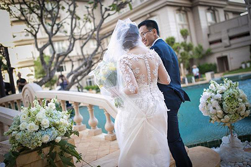 Đám cưới ngoài trời đẹp như cổ tích của cặp đôi Vũng Tàu - 9
