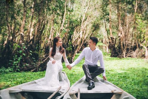 Ảnh cưới sông nước miền Tây của cặp đôi Việt kiều Mỹ - 10