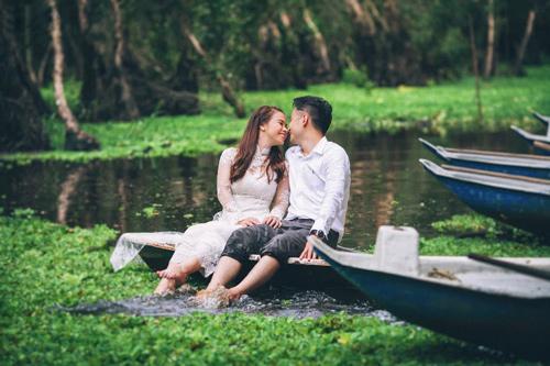 Ảnh cưới sông nước miền Tây của cặp đôi Việt kiều Mỹ - 12
