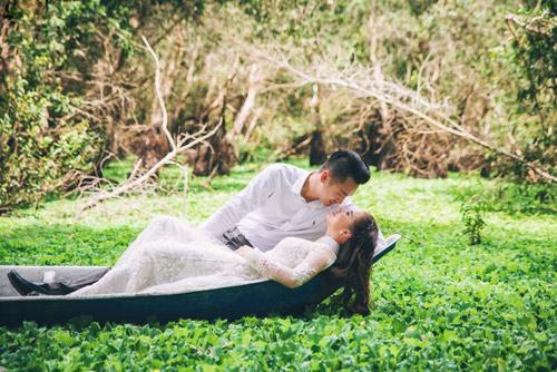 Ảnh cưới sông nước miền Tây của cặp đôi Việt kiều Mỹ - 13