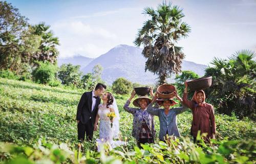 Ảnh cưới sông nước miền Tây của cặp đôi Việt kiều Mỹ - 17