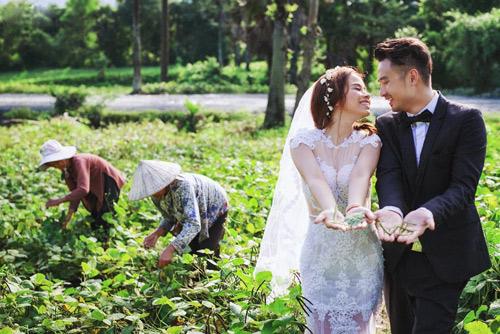Ảnh cưới sông nước miền Tây của cặp đôi Việt kiều Mỹ - 18