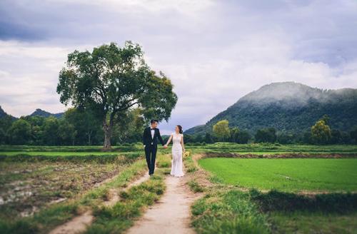 Ảnh cưới sông nước miền Tây của cặp đôi Việt kiều Mỹ - 4