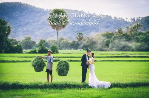 Ảnh cưới sông nước miền Tây của cặp đôi Việt kiều Mỹ - 7