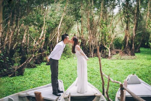 Ảnh cưới sông nước miền Tây của cặp đôi Việt kiều Mỹ - 8