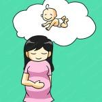 Mang thai tháng thứ 5 - bé cưng đã có dấu vân tay!