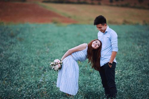Ảnh cưới mê hồn của chuyện tình 11 năm nồng thắm - 1