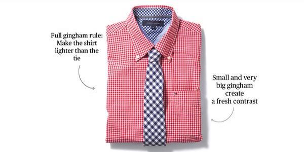 15 nguyên tắc cơ bản chọn cà vạt hợp áo sơ mi