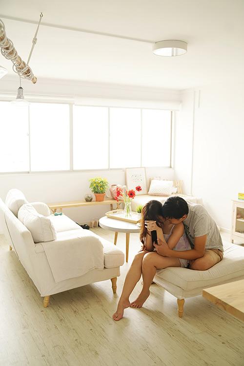 Cặp đôi chụp ảnh cưới theo bộ tranh vẽ tình yêu Hàn Quốc đình đám - 14