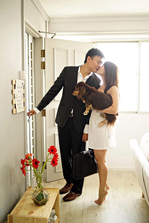 Cặp đôi chụp ảnh cưới theo bộ tranh vẽ tình yêu Hàn Quốc đình đám - 16