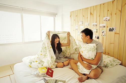 Cặp đôi chụp ảnh cưới theo bộ tranh vẽ tình yêu Hàn Quốc đình đám - 2