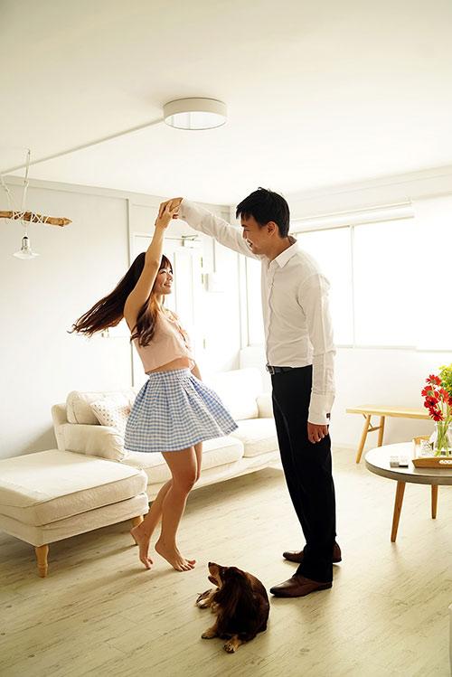 Cặp đôi chụp ảnh cưới theo bộ tranh vẽ tình yêu Hàn Quốc đình đám - 8