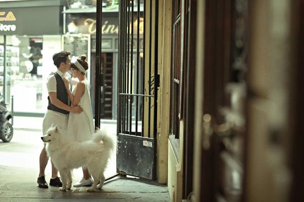 ảnh cưới paris