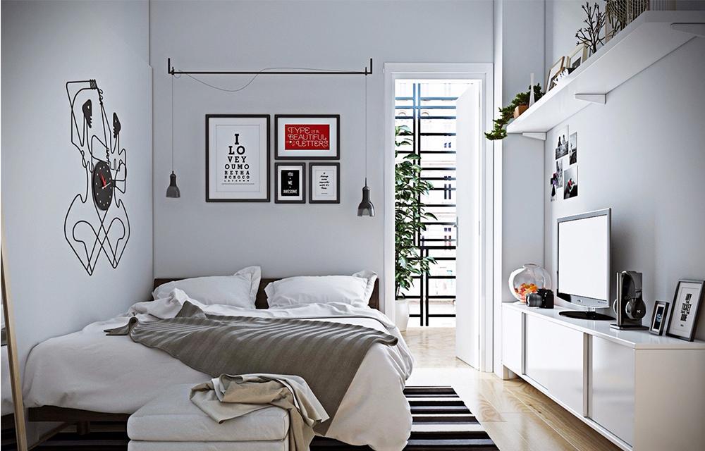 Chiếc phòng ngủ đẹp, khẳng định phong cách riêng