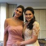 Tân Hoa hậu Hoàn vũ quyến rũ khi làm phù dâu