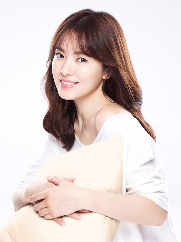 Để tóc mái thưa đẹp như Song Hye Kyo